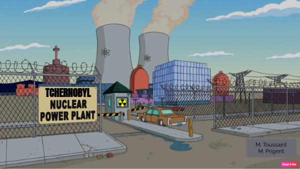 Tchernobyl escape game