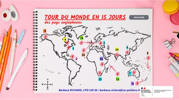 TOUR DU MONDE EN 15 JOURS, DSDEN86