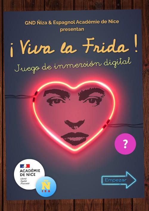 """Affiche """"¡Viva la Frida!"""""""