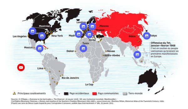 TG4 - l'année 68 dans le monde -