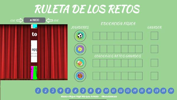 Ruleta De Los Retos By Miguecholy On Genially