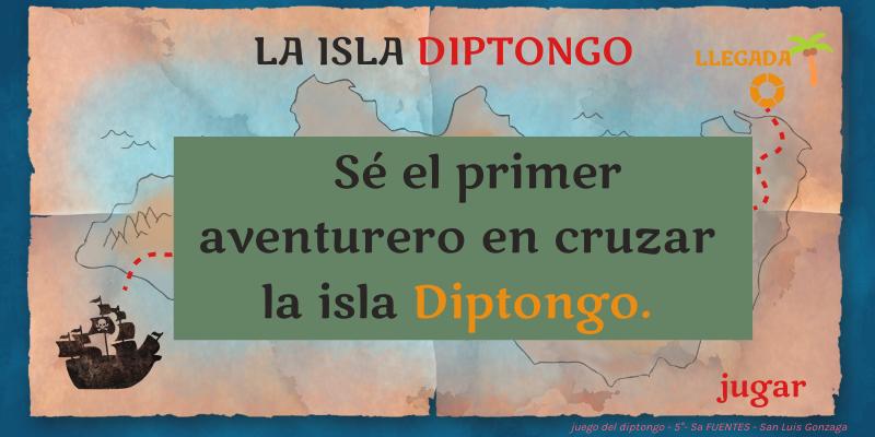 La Isla Diptongo By V Fuentes On Genially