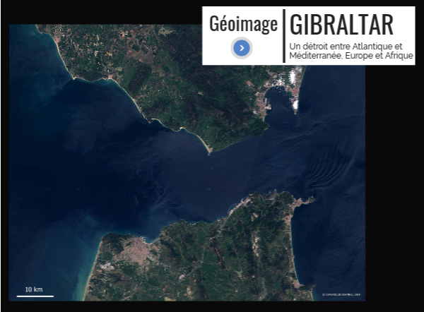 Géoimage: Gibraltar