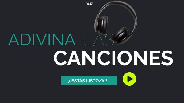 Quiz - Músicas hispanas emblemáticas