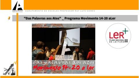 Das Palavras aos Atos_Programa Movimento 14-20 aLer by becre on Genially