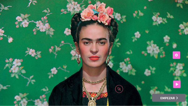 Frida Kahlo quiz puzle cuadro