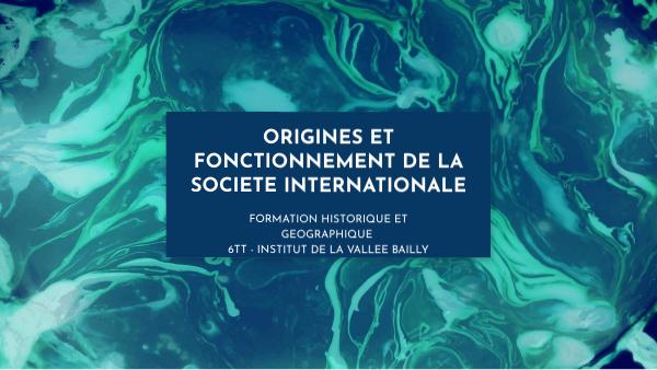 Société internationale