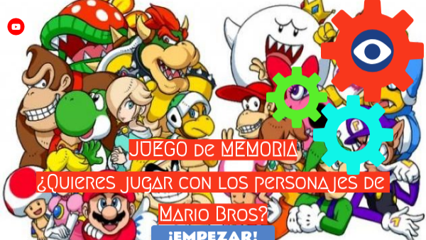 Memoria Personajes Mario Bros By Merce Mrc On Genially