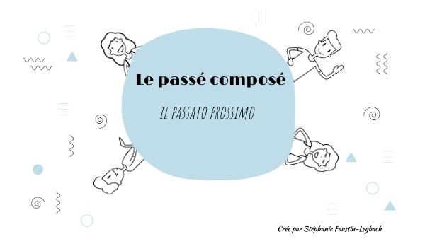 Le passé composé en italien