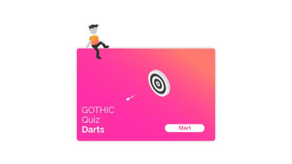 GOTHIC DART GAME