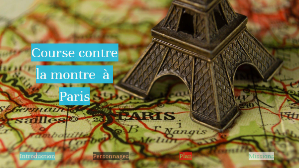 Course contre la montre à Paris