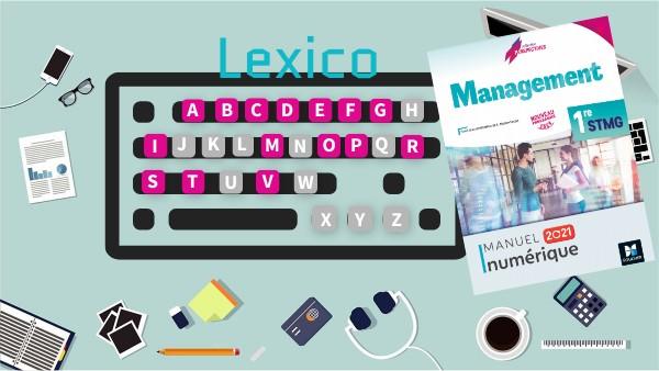 Lexico MIE Management 1re STMG
