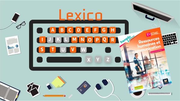 Lexico RHC Terminale STMG (Foucher)