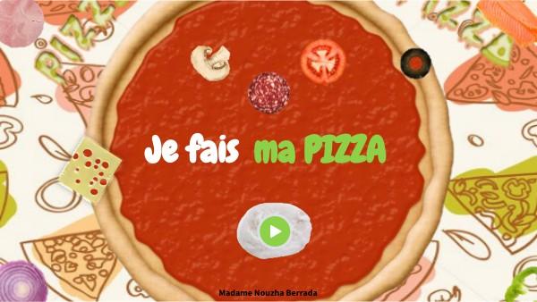 JE FAIS MA PIZZA - ASSOCIER UN NOMBRE A SA QUANTITÉ