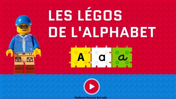 LES LÉGOS DE L'ALPHABET