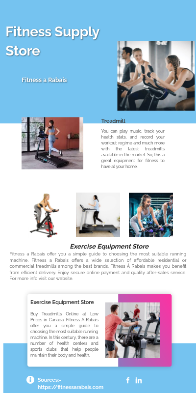 Fitness Supply Store by Rabais on Genially